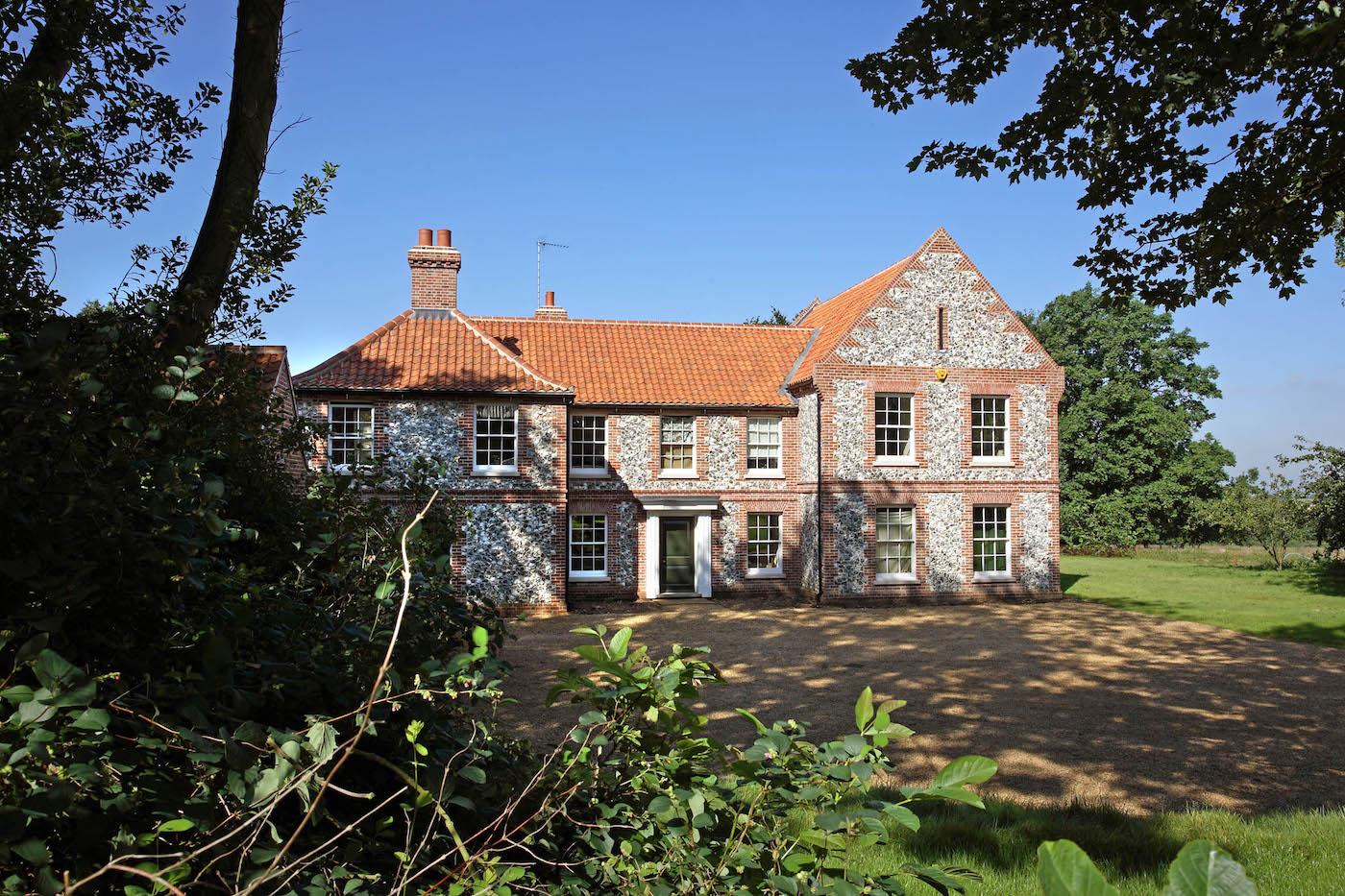 Norfolk farm house nicholas jacob architects for Architects norfolk