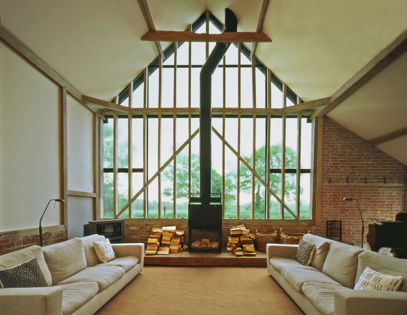 suffolk barn conversion interior nicholas jacob architects