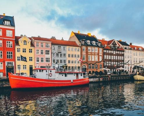 Copenhagen european architecture