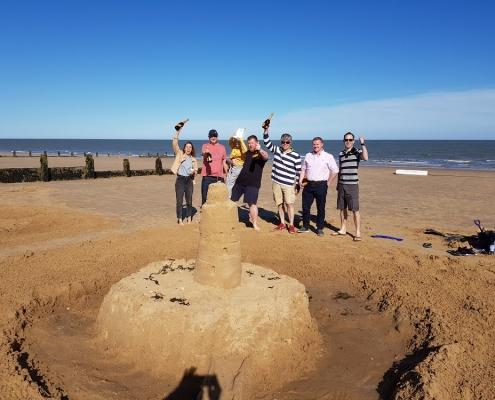 DCP sandcastles Frinton
