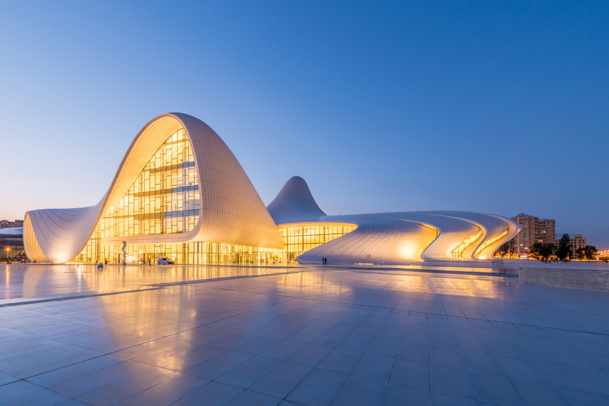 Heydar Aliyev Center architecture