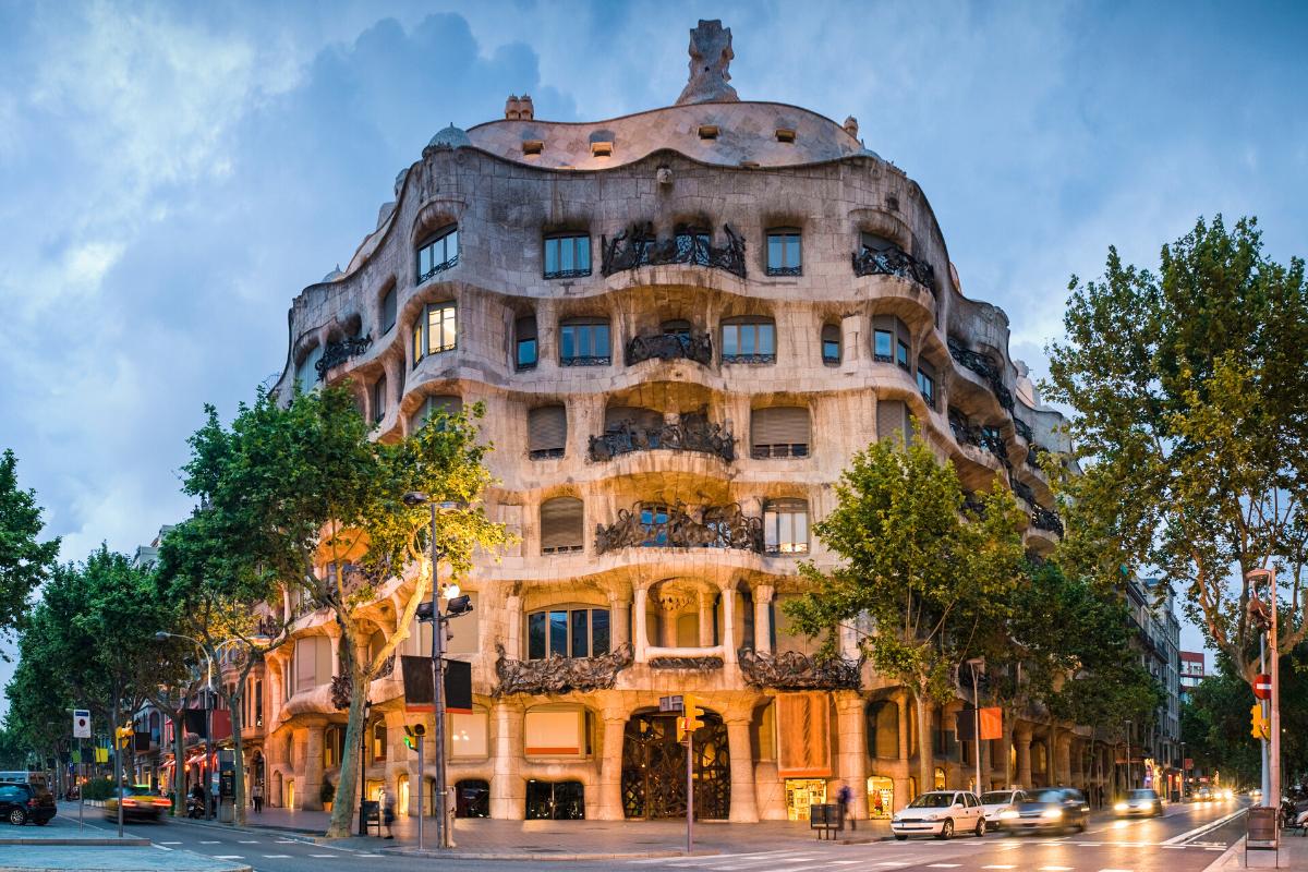 La Pedrera Barcelona architecture