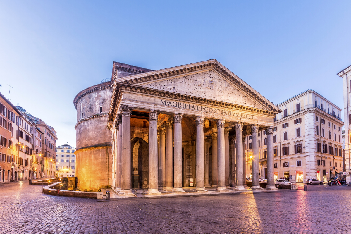 Pantheon, Rome architecture
