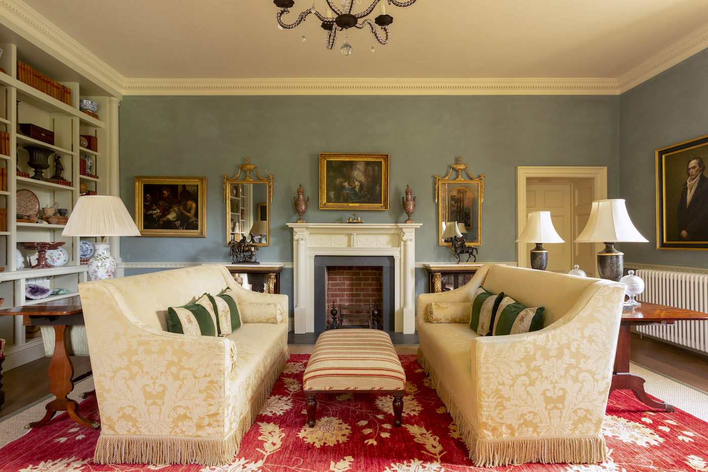 Oulton Hall Half Landing Drawing Room Shot